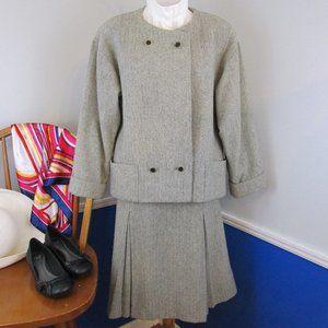 Vintage 80's Schrader Sport Separates Woolen Suit
